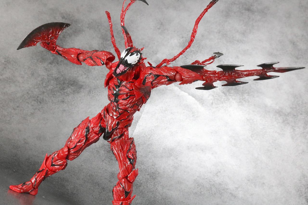 リボルテック アメイジングヤマグチ Amazing Yamaguchi カーネイジ レビュー アクション