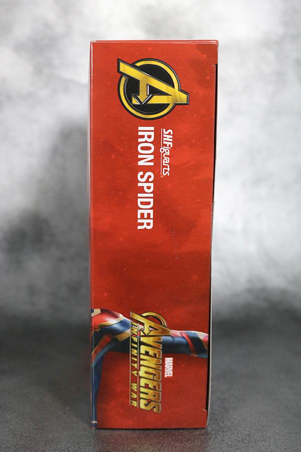 S.H.フィギュアーツ アイアン スパイダーマン アベンジャーズ インフィニティウォー レビュー パッケージ