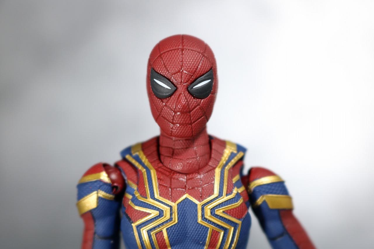 S.H.フィギュアーツ アイアン スパイダーマン アベンジャーズ インフィニティウォー レビュー 付属品