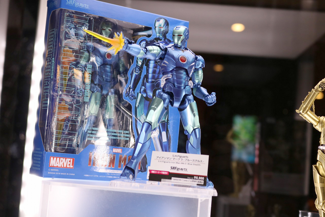 TAMASHII Comic-Con タマシイコミコン アイアンマン ブルーステルス C3-PO
