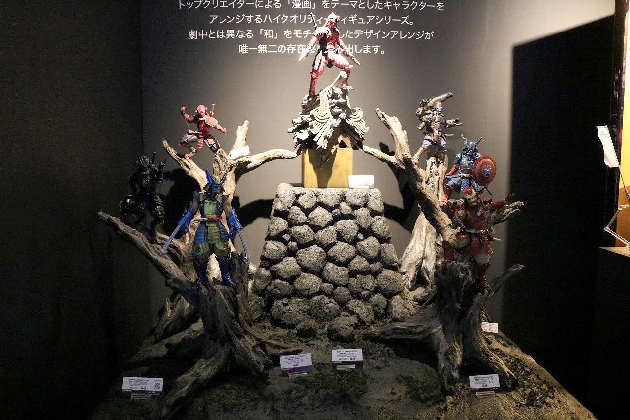 TAMASHII Comic-Con タマシイコミコン マーベル 名将MOVIE REALIZATION
