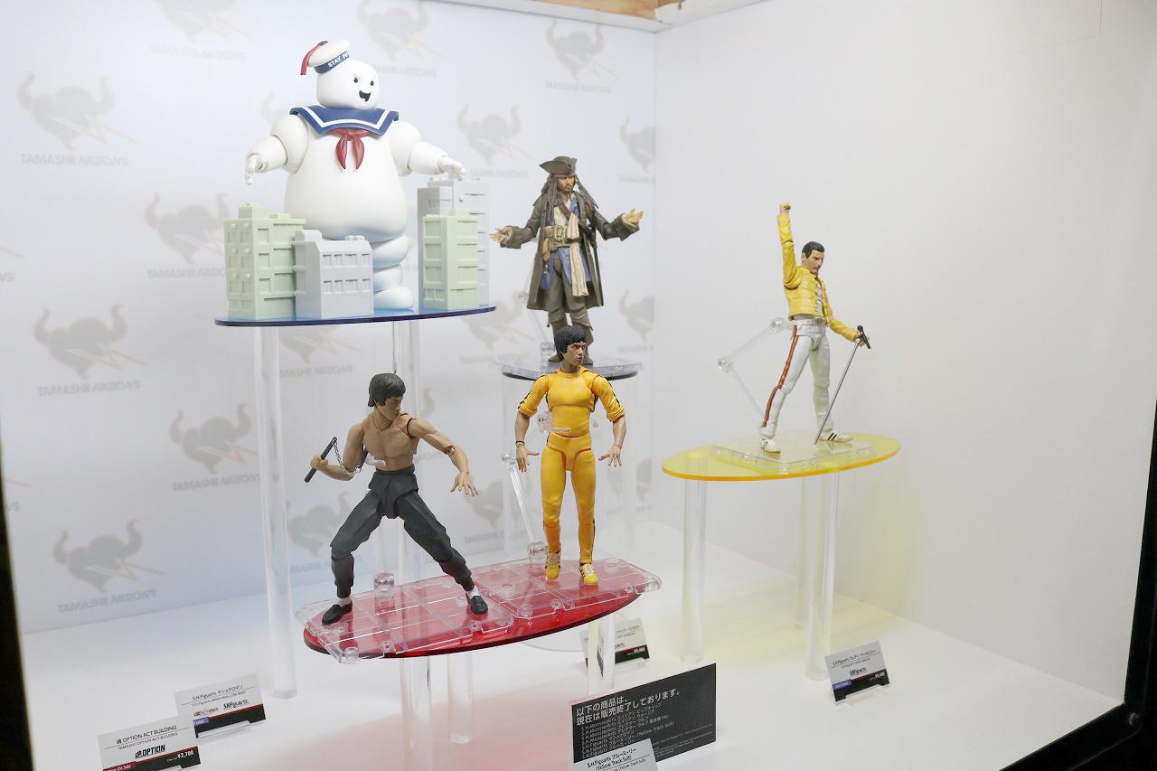 TAMASHII Comic-Con タマシイコミコン マシュマロマン ジャック・スパロー ブルース・リー フレディ・マーキュリー
