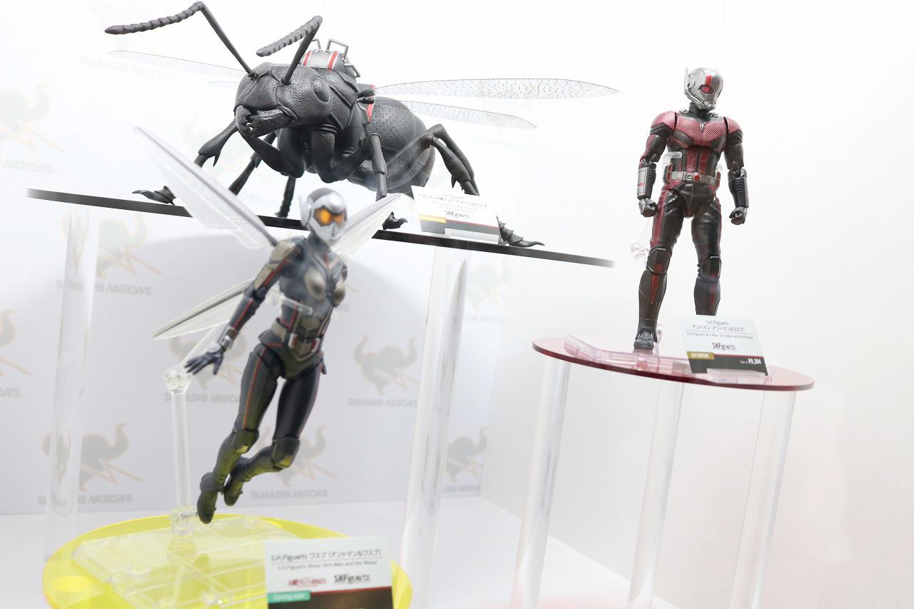 TAMASHII Comic-Con タマシイコミコン マーベル アントマン&ワスプ