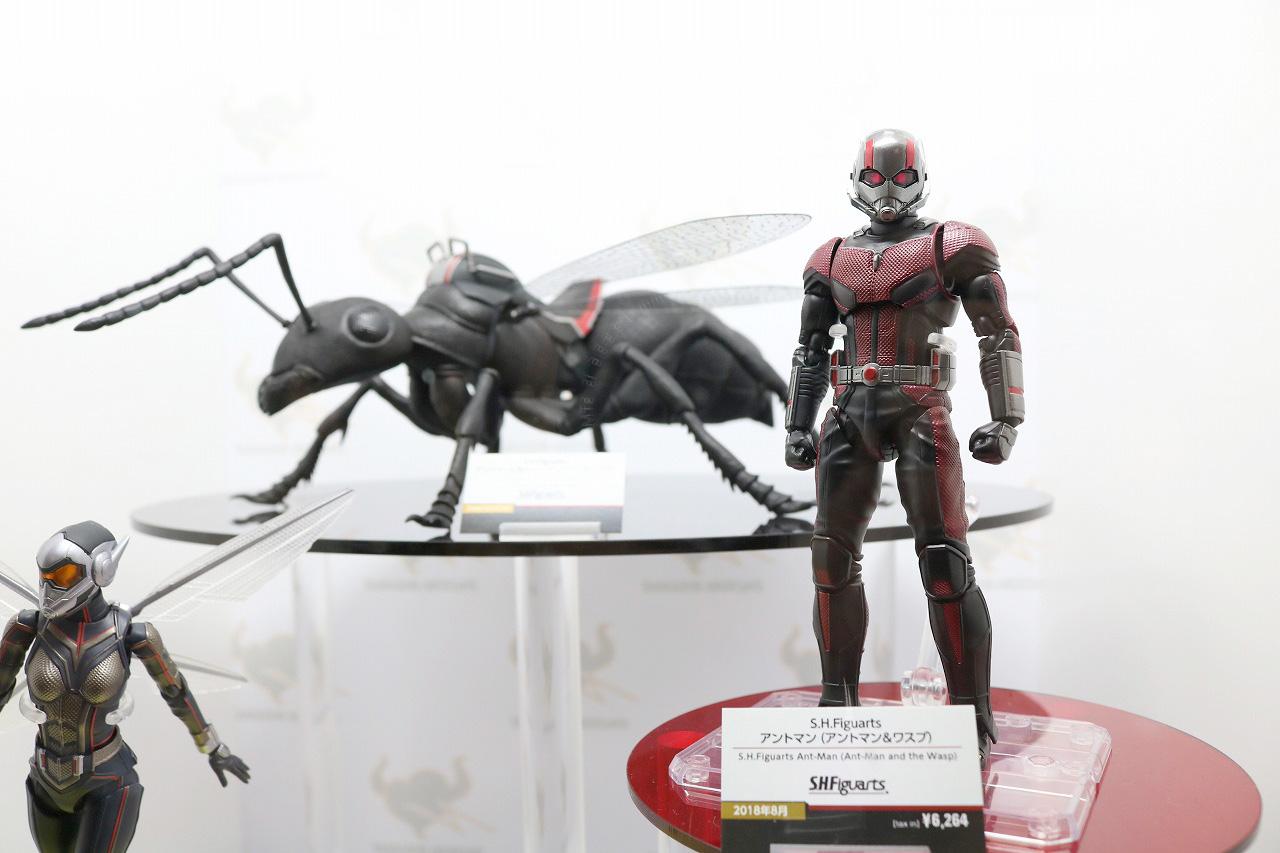 TAMASHII Comic-Con タマシイコミコン マーベル アントマン&ワスプ S.H.フィギュアーツ 蟻