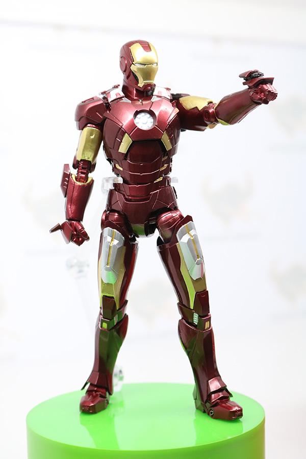 TAMASHII Comic-Con タマシイコミコン マーベル S.H.フィギュアーツ アイアンマン マーク7