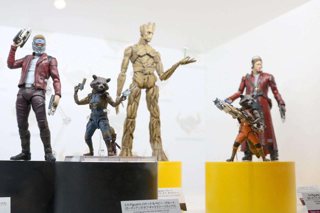 TAMASHII Comic-Con タマシイコミコン マーベル S.H.フィギュアーツ ガーディアンズ・オブ・ギャラクシー