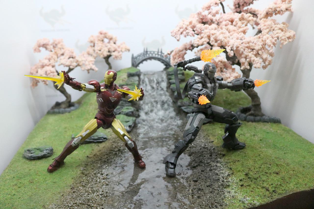 TAMASHII Comic-Con タマシイコミコン マーベル S.H.フィギュアーツ アイアンマン2 マーク6 ウォーマシン