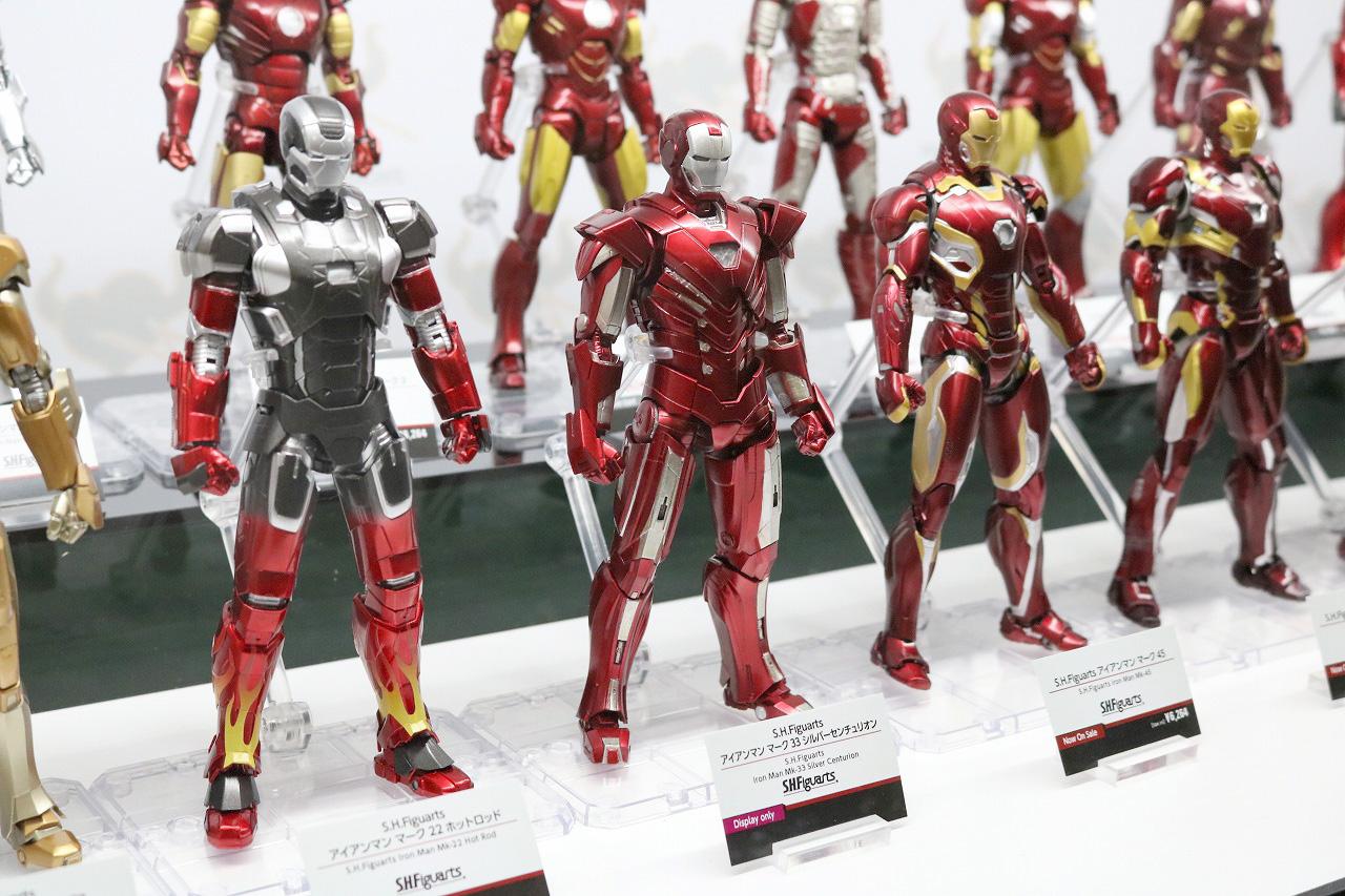 TAMASHII Comic-Con タマシイコミコン マーベル S.H.フィギュアーツ アイアンマン マーク33 シルバーセンチュリオン