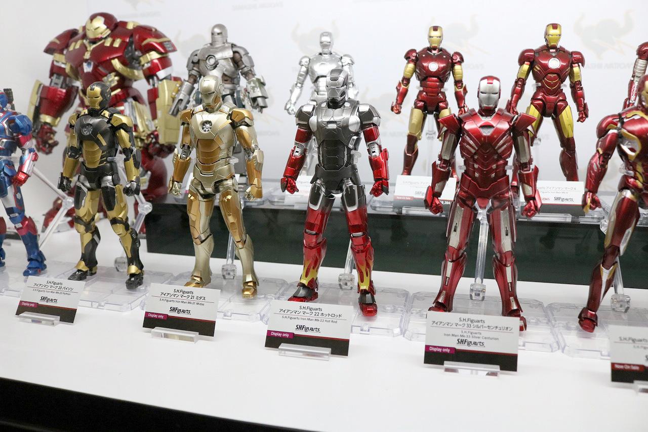 TAMASHII Comic-Con タマシイコミコン マーベル S.H.フィギュアーツ アイアンマン