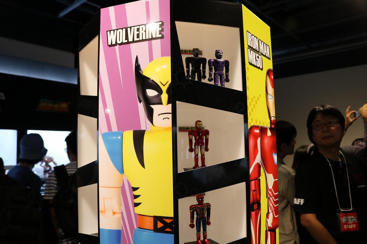 TAMASHII Comic-Con タマシイコミコン 超合金HEROES