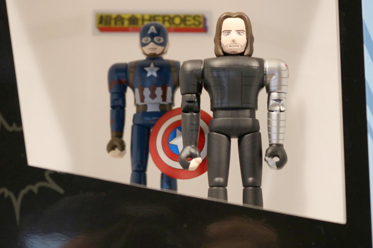 TAMASHII Comic-Con タマシイコミコン 超合金HEROES キャプテンアメリカ&ウィンターソルジャー