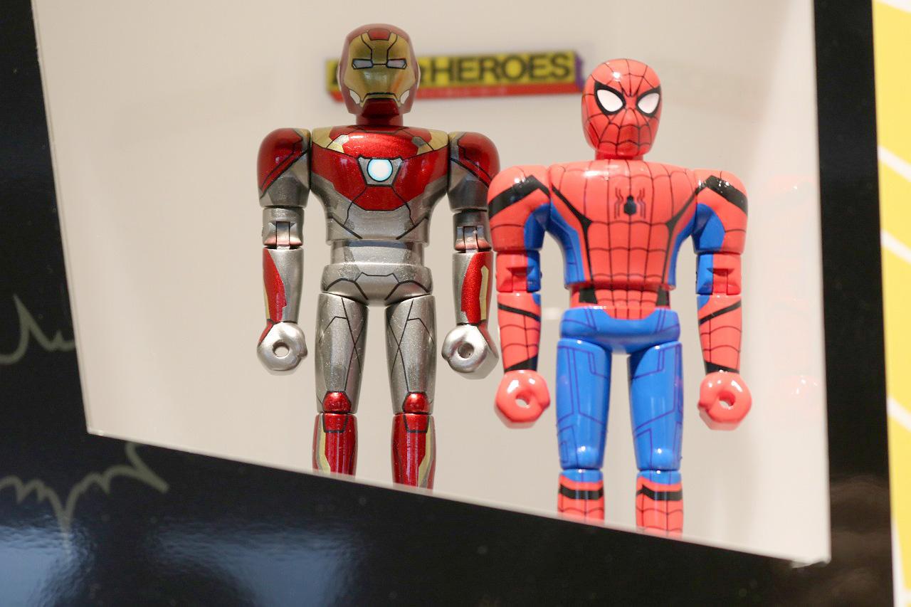 超合金HEROES スパイダーマン(ホームカミング)&アイアンマン マーク47