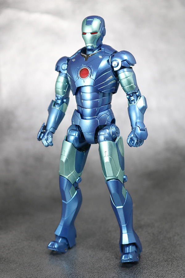 S.H.フィギュアーツ アイアンマン マーク3 ブルーステルスカラー レビュー TAMASII Comic-Con 魂コミコン タマシイコミコン 全身
