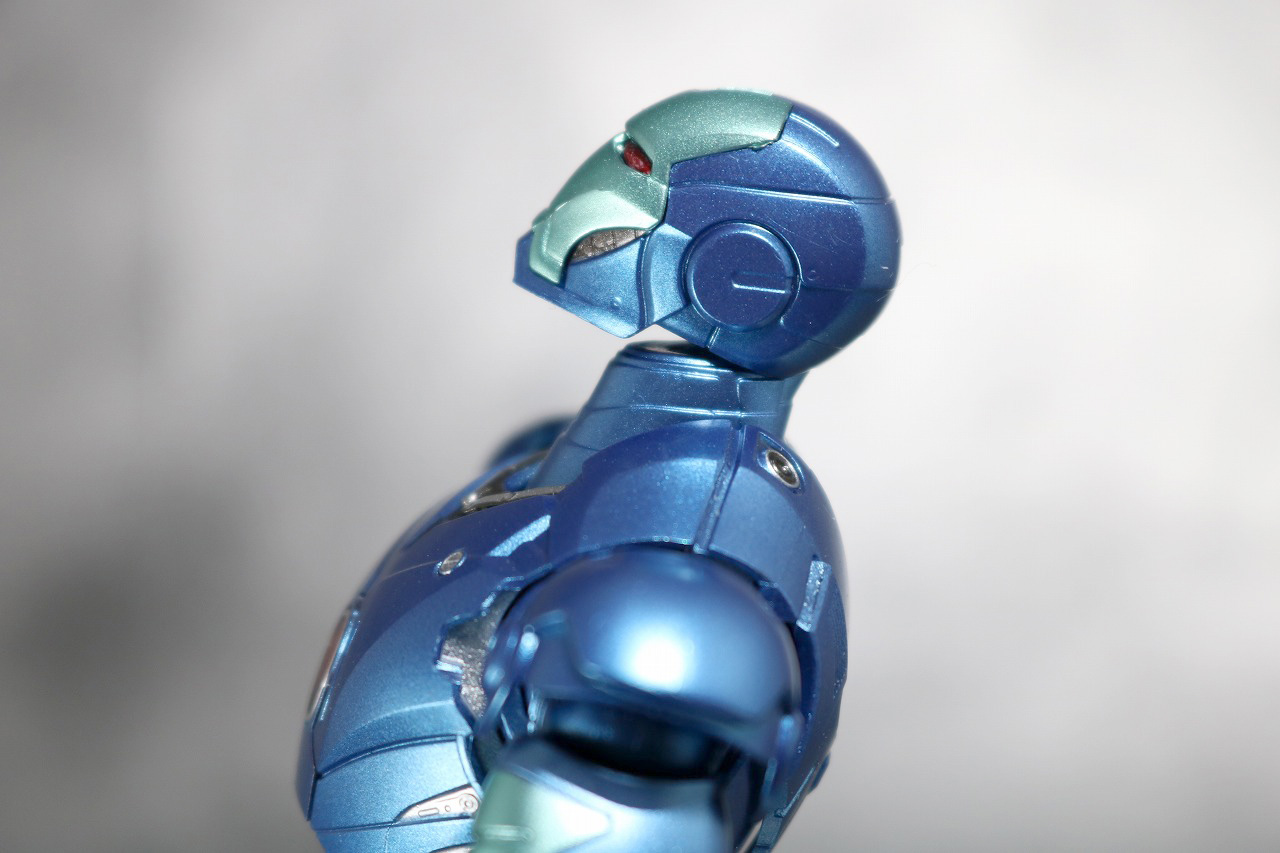 S.H.フィギュアーツ アイアンマン マーク3 ブルーステルスカラー レビュー TAMASII Comic-Con 魂コミコン タマシイコミコン 可動範囲