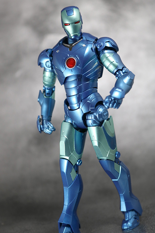 S.H.フィギュアーツ アイアンマン マーク3 ブルーステルスカラー レビュー TAMASII Comic-Con 魂コミコン タマシイコミコン アクション