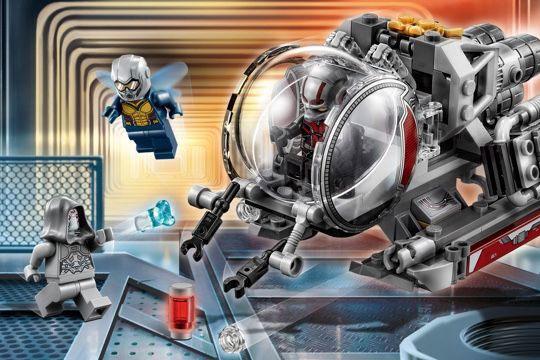 『アントマン&ワスプ』のLEGOが発売!クァンタムビークルに乗れる!