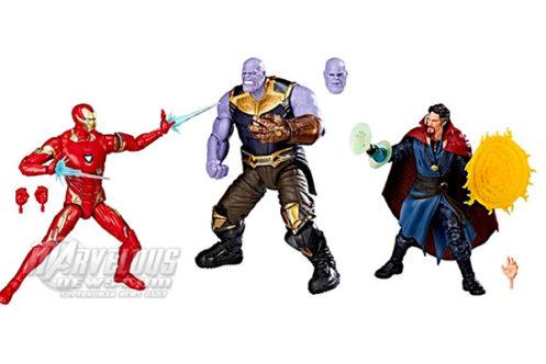 マーベルレジェンド新作!『インフィニティウォー』からアイアンマン、ストレンジ、サノスがセットに!