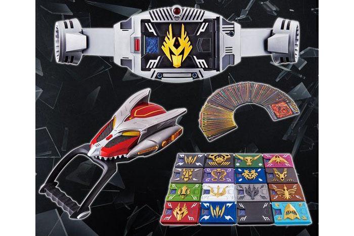コンセレ『Vバックル』&『ドラグバイザー』情報解禁!カードデッキ17種に89種のカード付!