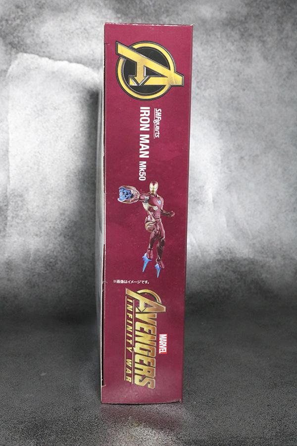 S.H.フィギュアーツ アイアンマン マーク50 レビュー アベンジャーズ インフィニティウォー パッケージ