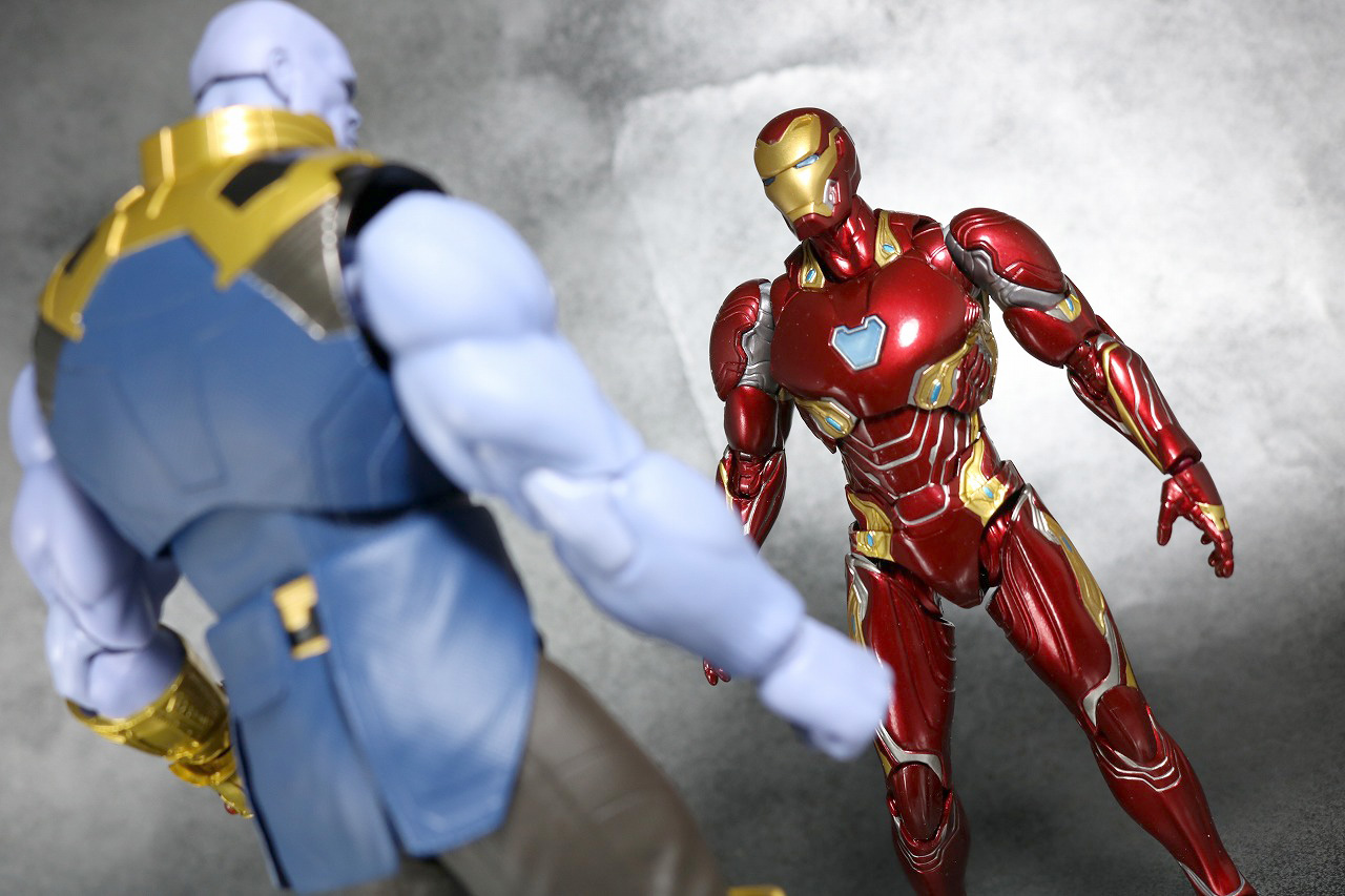 S.H.フィギュアーツ アイアンマン マーク50 レビュー アベンジャーズ インフィニティウォー アクション