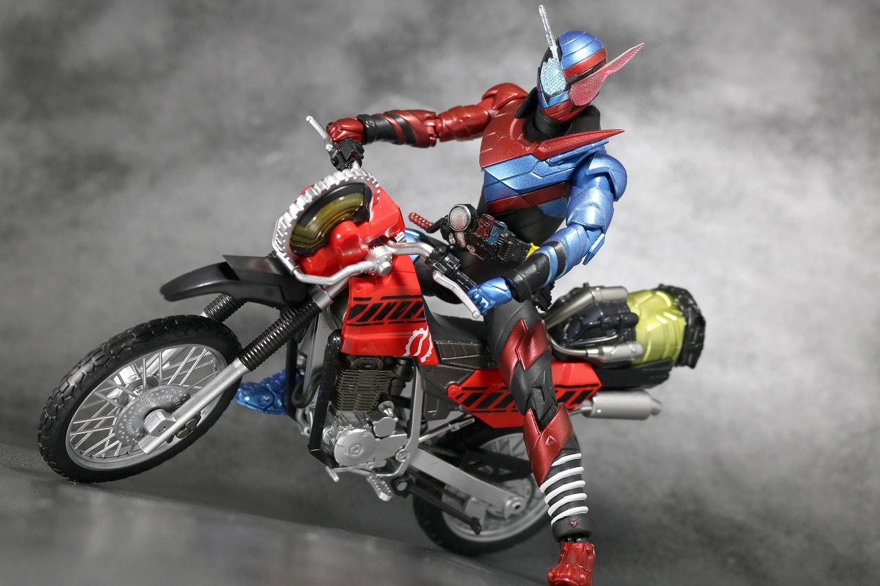 S.H.フィギュアーツ マシンビルダー パーツセット レビュー 仮面ライダービルド バイク アクション