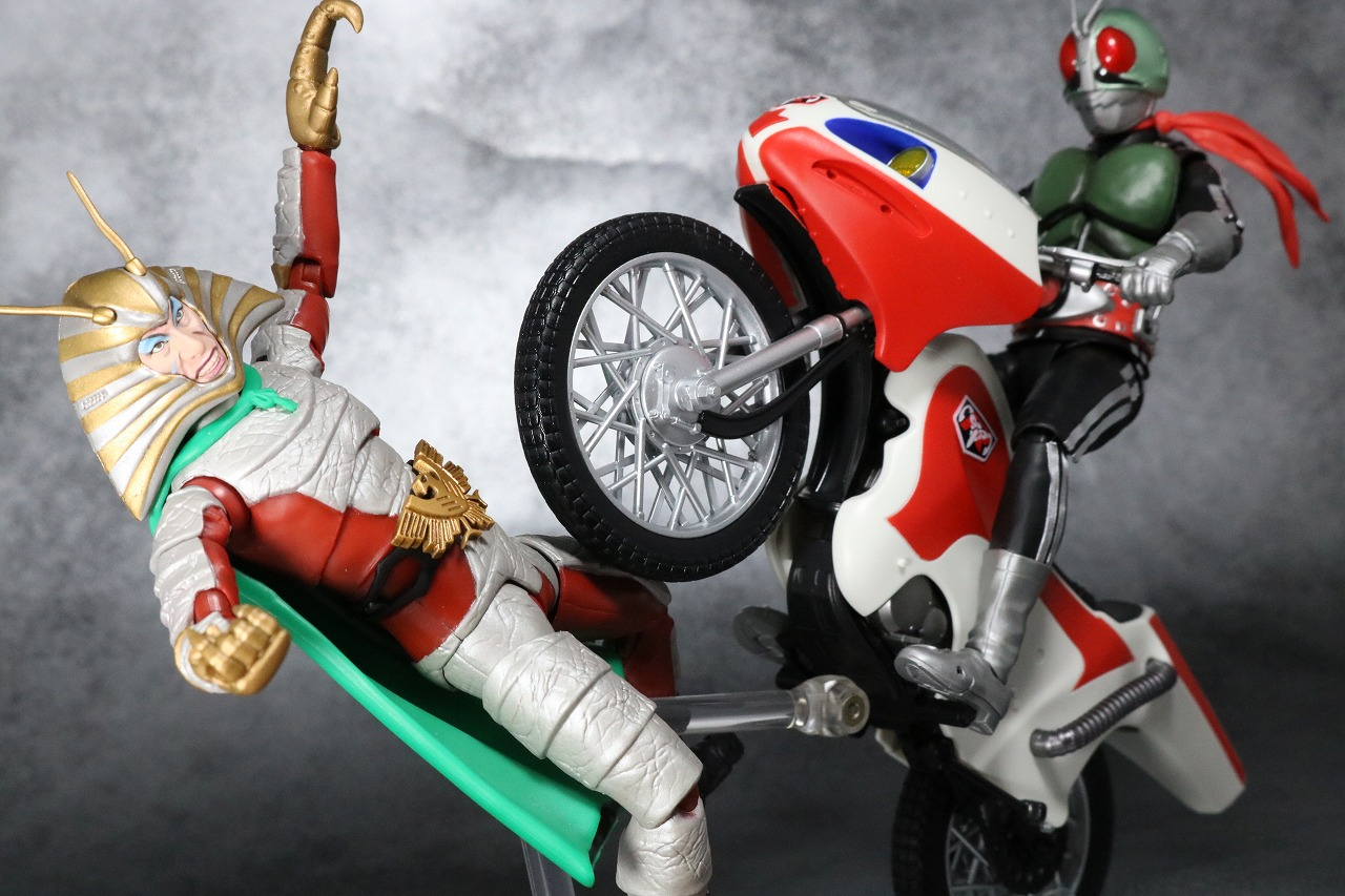 S.H.フィギュアーツ 新サイクロン号 レビュー アクション