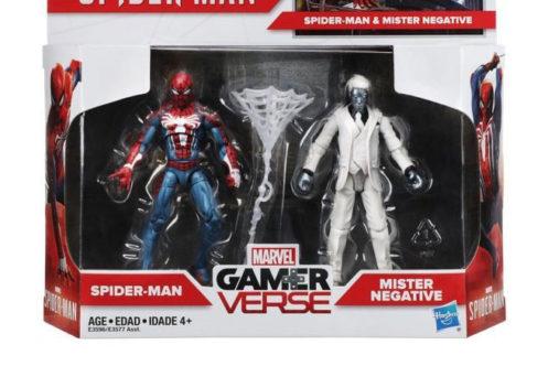 ゲーム版スパイダーマン&ミスターネガティブが3.75インチの2パックで登場!