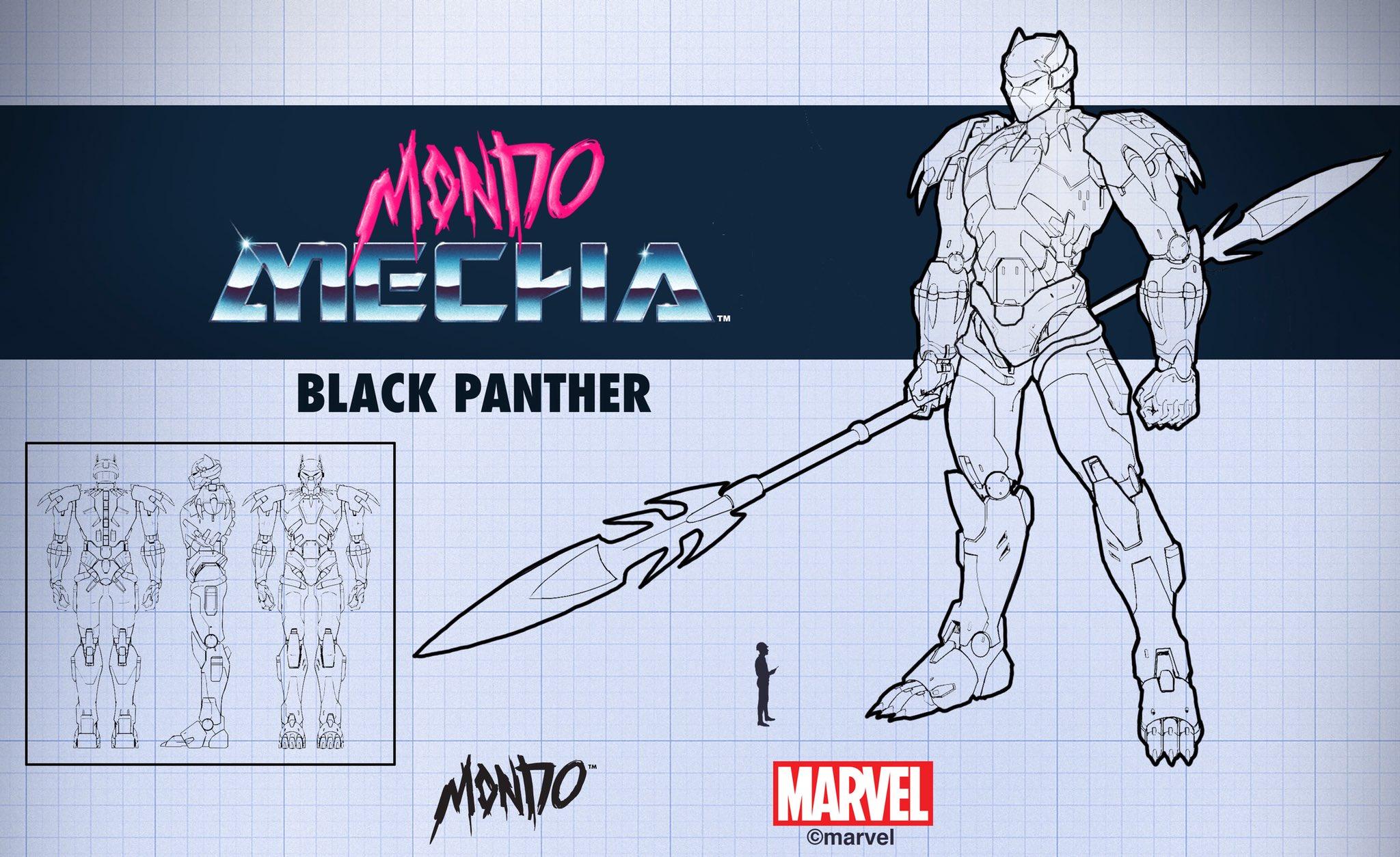 Mondo ブラックパンサー ロボット