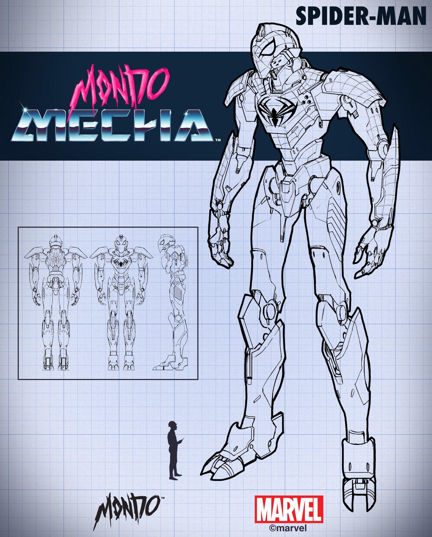 Mondo スパイダーマン ロボット