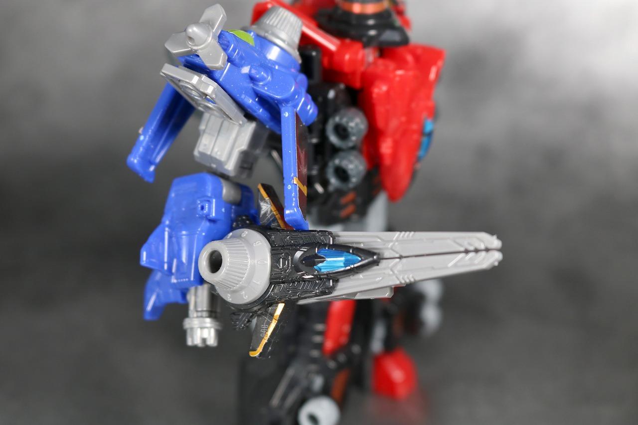ミニプラ VSビークル合体03 武装合体 シザー&ブレードダイヤルファイター ルパンカイザーナイト