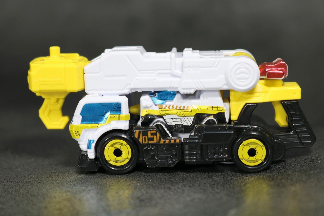 ミニプラ VSビークル合体03 武装合体 トリガーマシンクレーン&ドリル