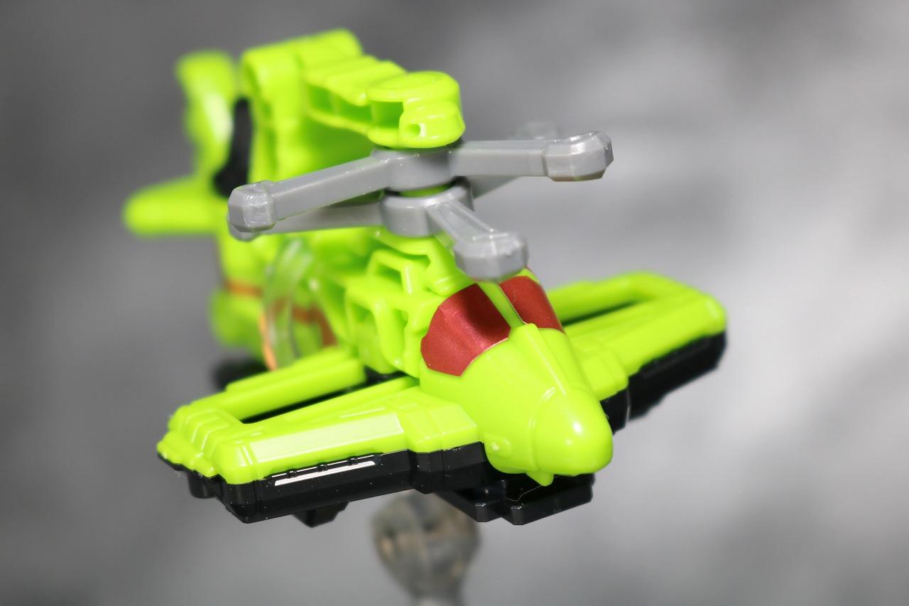 ミニプラ 武装合体 サイクロンダイヤルファイター レビュー