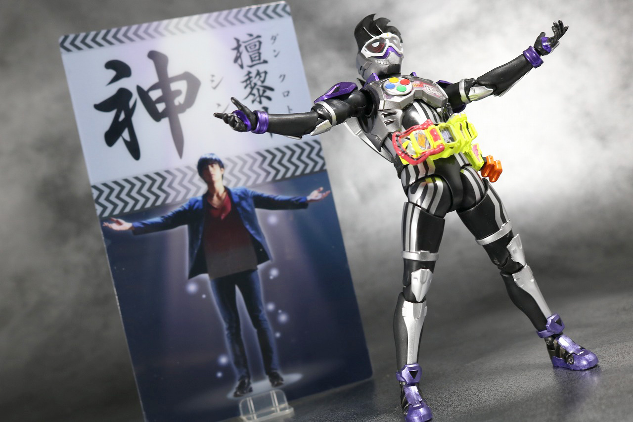 S.H.フィギュアーツ 仮面ライダーゲンム アクションゲーマー レベル0 レビュー アクション