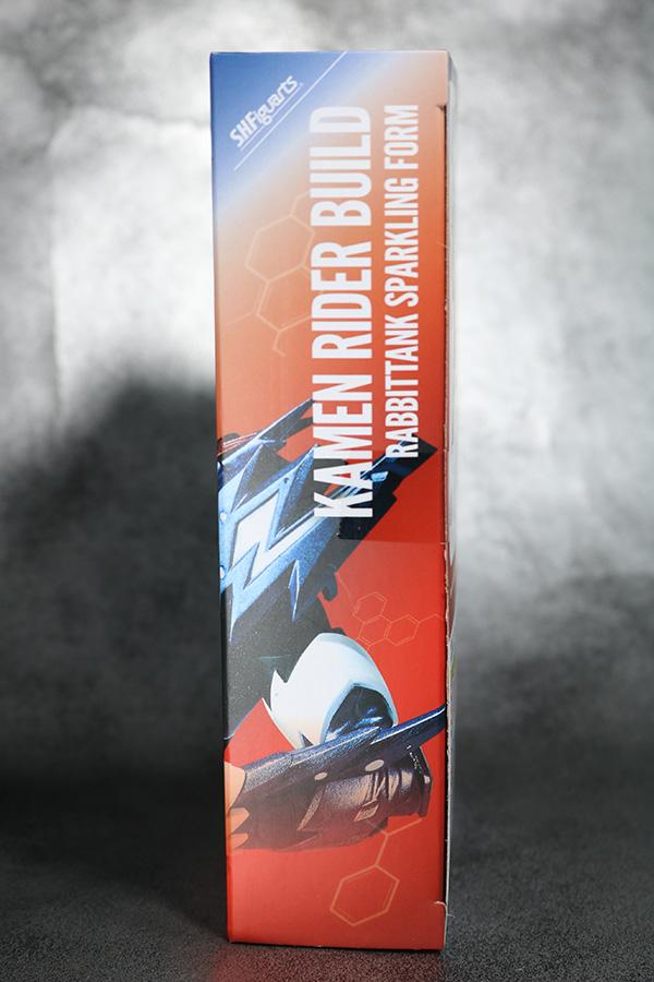 S.H.フィギュアーツ 仮面ライダービルド ラビットタンク スパークリング レビュー パッケージ