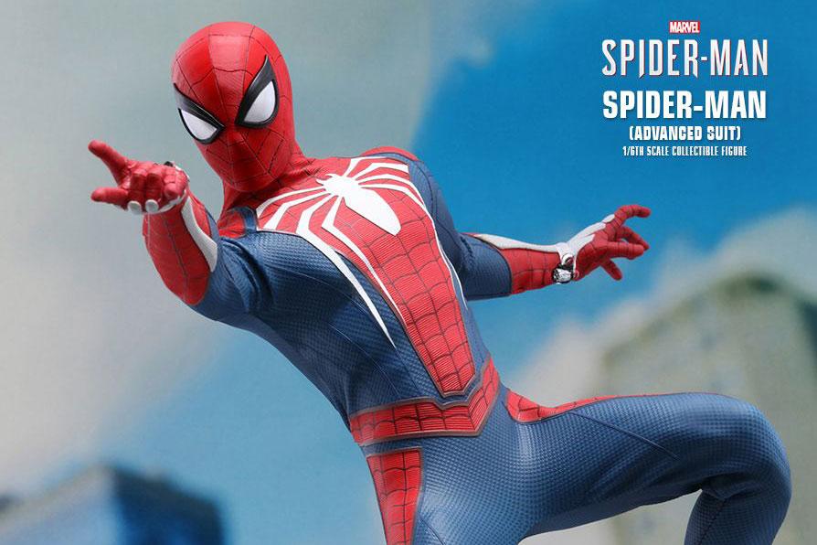 ホットトイズ新作!PS4ゲーム版スパイダーマンが発売決定!スポーティなスーツを再現!