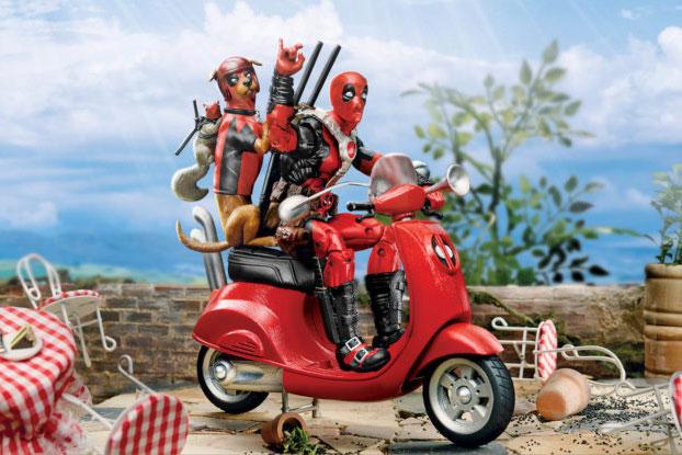 マーベルレジェンド新作!デッドプール&ドッグプール&スクーターが発売!犬の後ろにはもう一人?