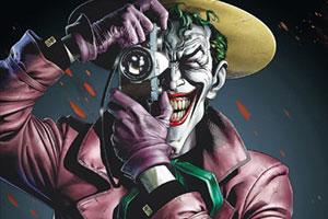 『ジョーカー』から歓声を受けるジョーカーが目撃!裁判所前でのシーンとも
