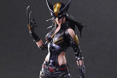 プレイアーツ改新作!ウルヴァリンのクローン「X-23」が12月発売!