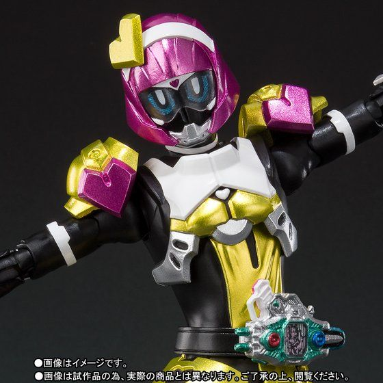 S.H.フィギュアーツ 仮面ライダーポッピー ときめきクライシスゲーマー レベルX