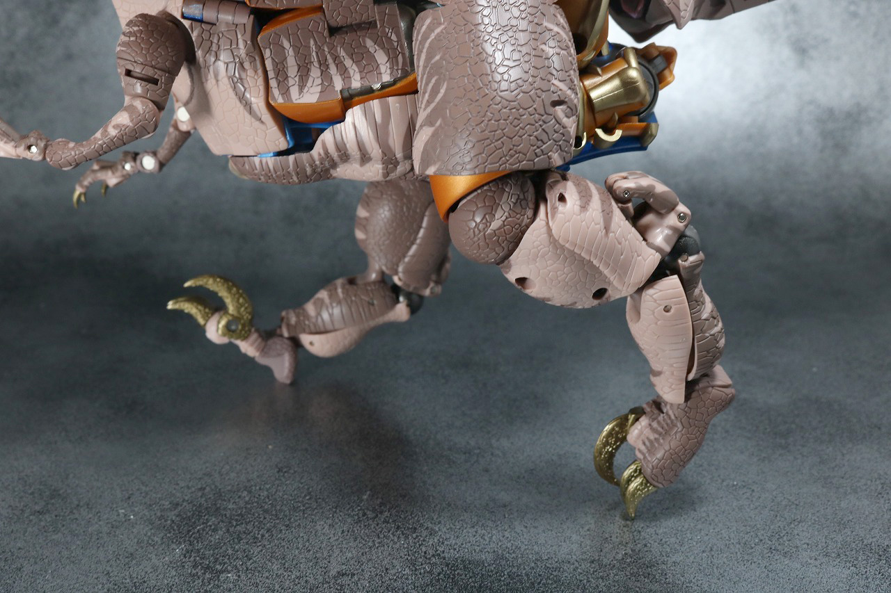マスターピース MP41 ダイノボット レビュー ビーストウォーズ 可動範囲 ビーストモード