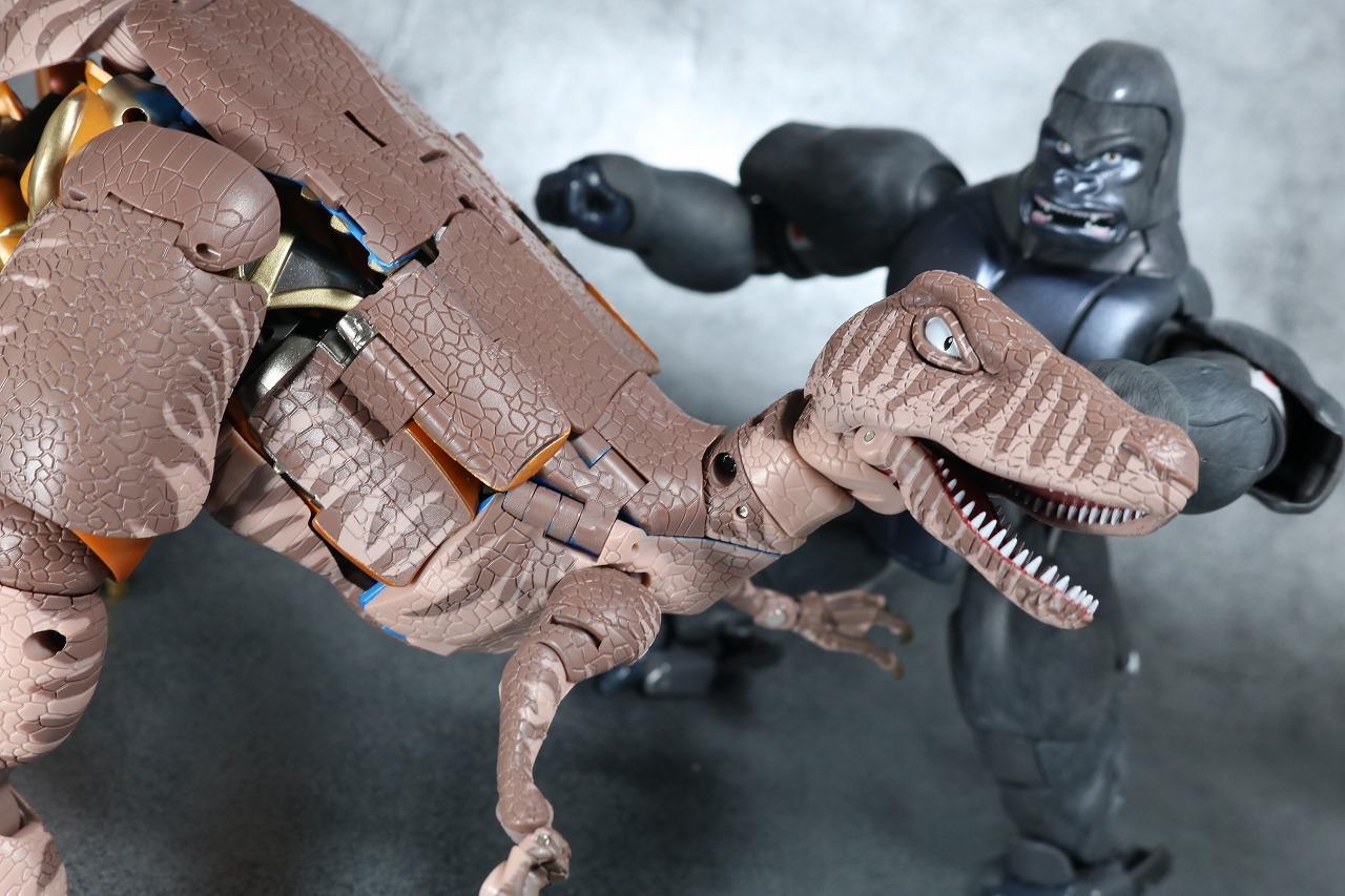 マスターピース MP41 ダイノボット ビーストモード レビュー ビーストウォーズ