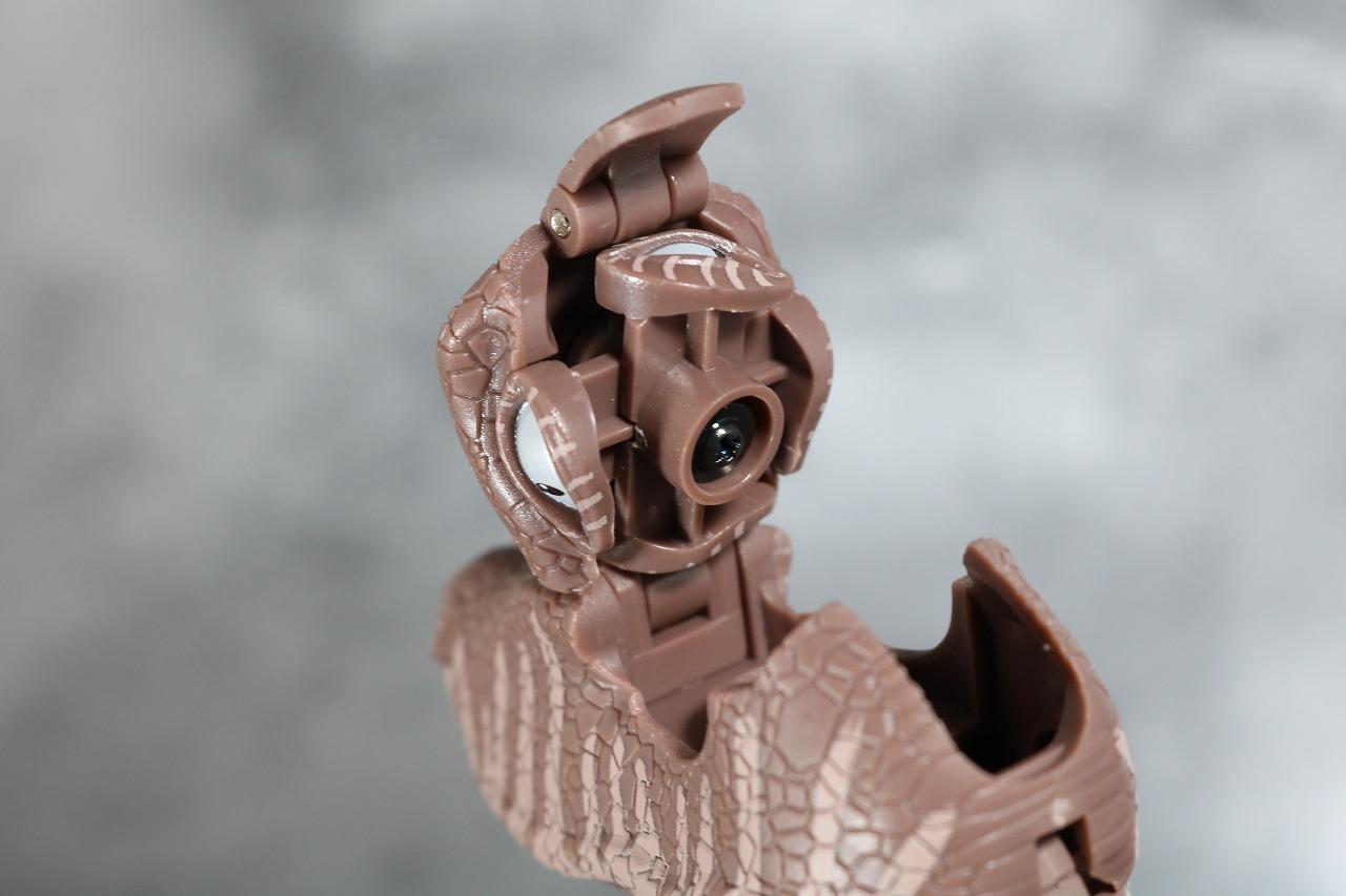 マスターピース MP41 ダイノボット レビュー ビーストウォーズ 表情ギミック ビーストモード