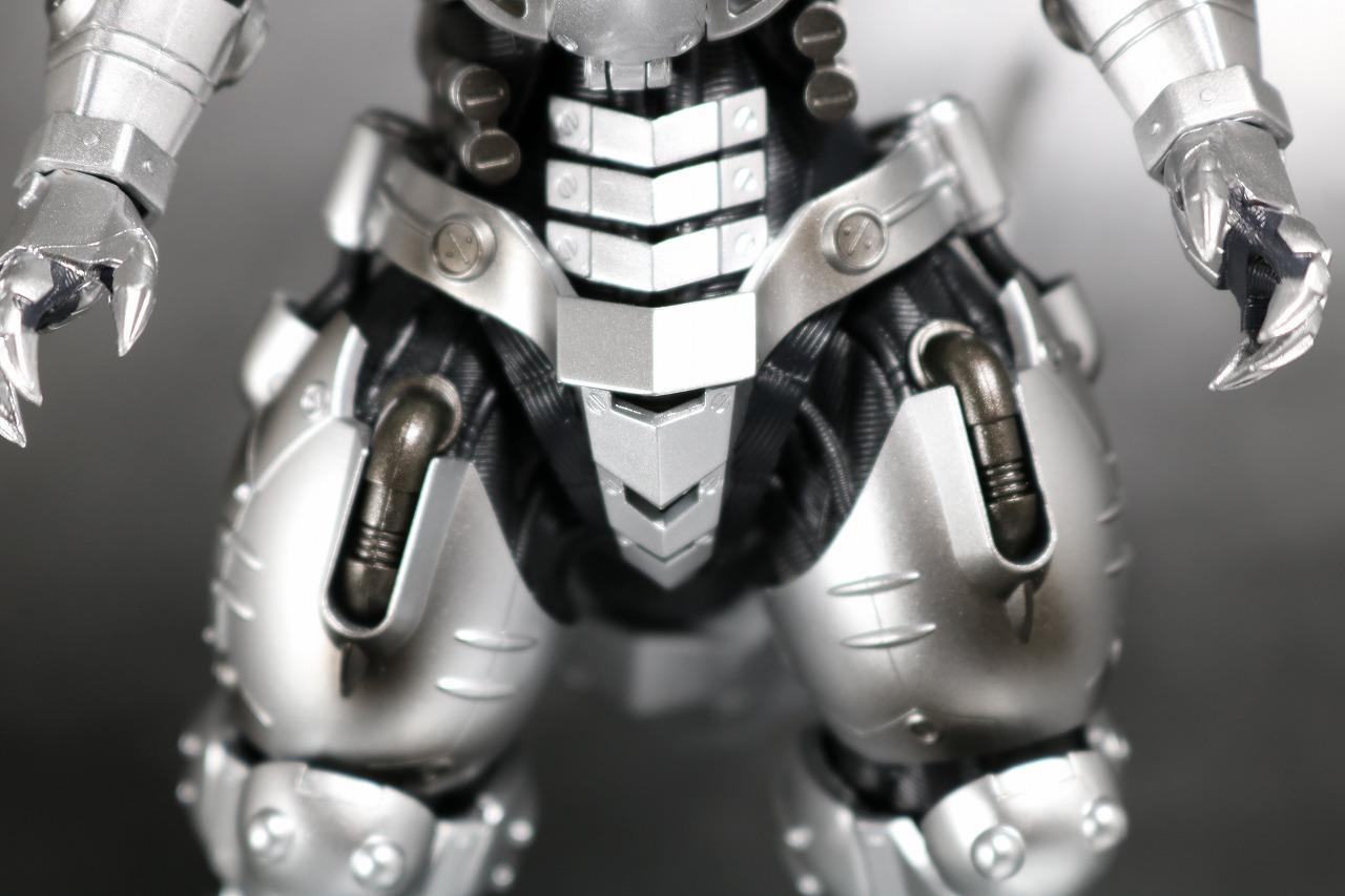 S.H.モンスターアーツ 3式 機龍 メカゴジラ 品川最終決戦Ver. レビュー 全身