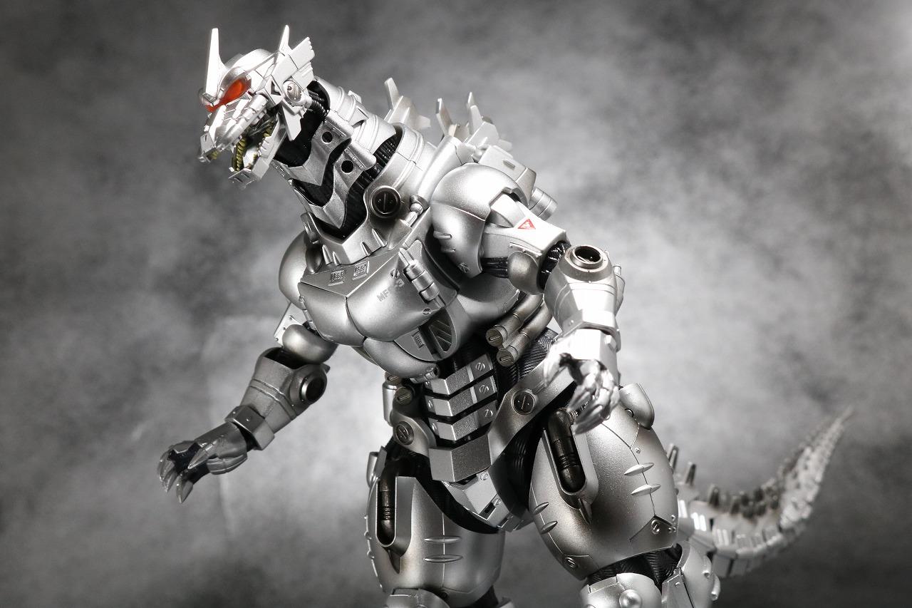 S.H.モンスターアーツ 3式 機龍 メカゴジラ 品川最終決戦Ver. レビュー アクション