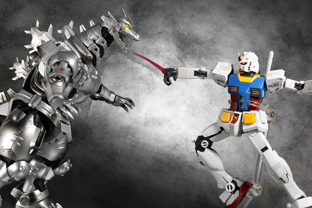 S.H.モンスターアーツ 3式 機龍 メカゴジラ 品川最終決戦Ver. レビュー アクション レディ・プレイヤー1