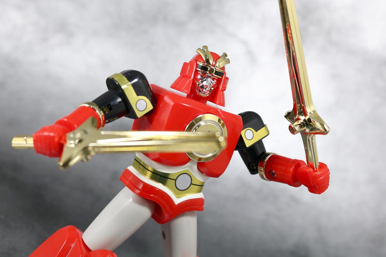 プラデラ 超忍獣 ゴッドサルダー レビュー アクション 忍者戦隊カクレンジャー