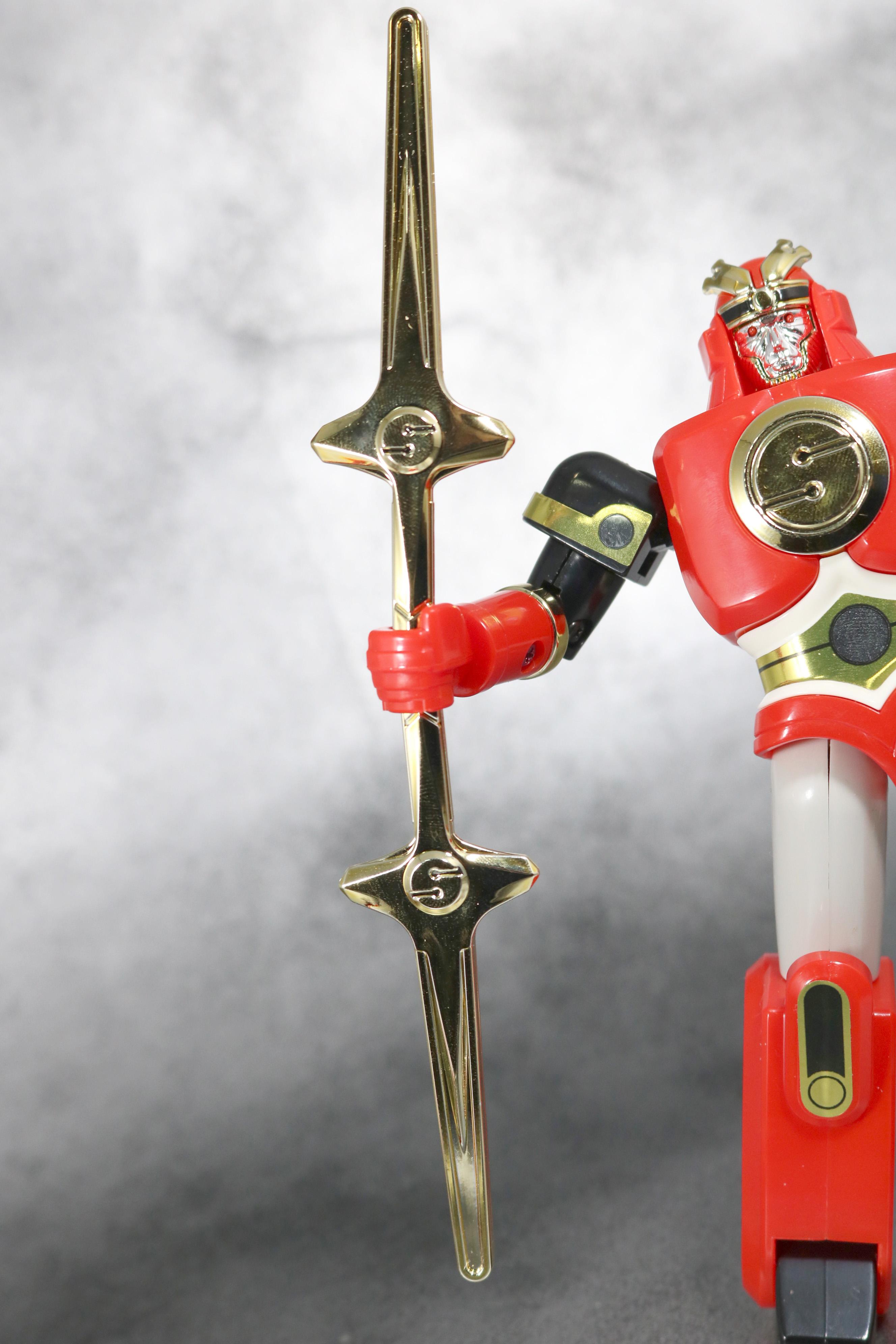 プラデラ 超忍獣 ゴッドサルダー レビュー 付属品 忍者戦隊カクレンジャー