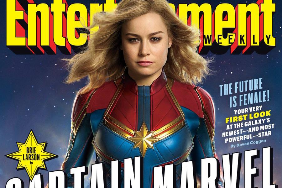 『キャプテンマーベル』、EW誌にて劇中スチル写真が初公開!コスチューム写真や注目キャラも