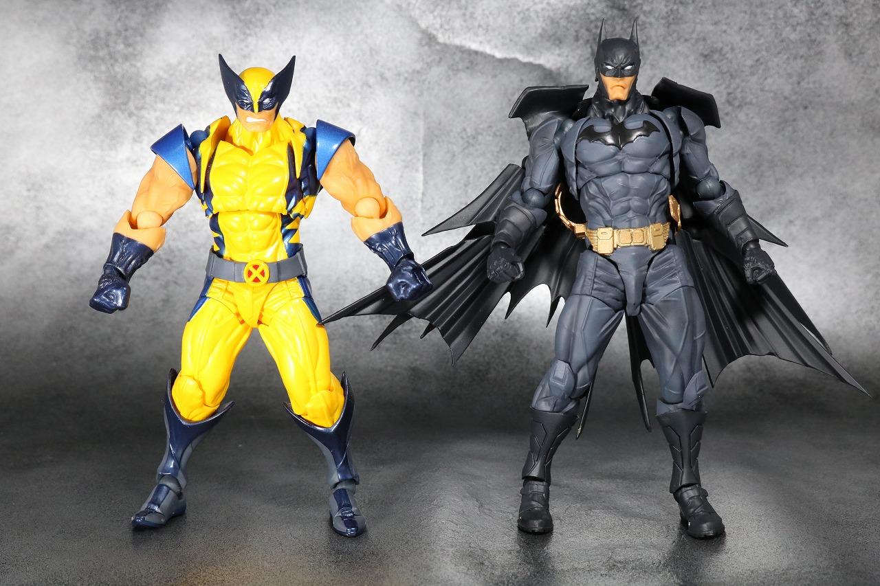 リボルテック アメイジングヤマグチ バットマン レビュー Amazing Yamaguchi 全身