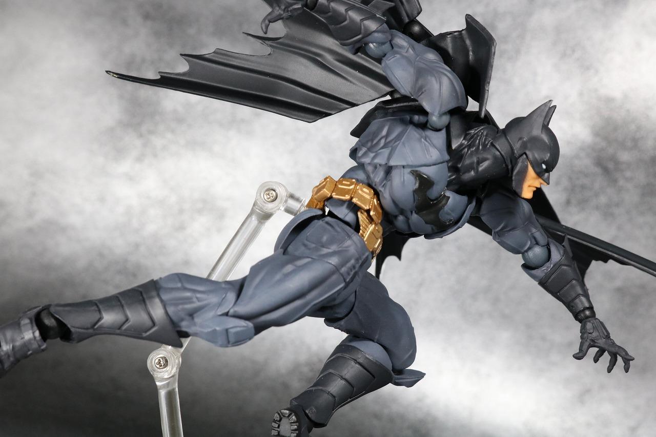 リボルテック アメイジングヤマグチ バットマン レビュー Amazing Yamaguchi アクション